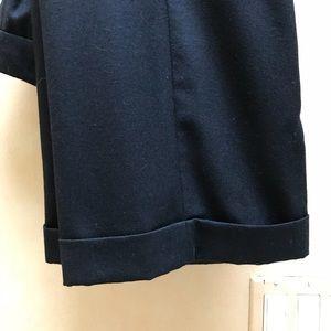 JCrew lined black wool pants size 4